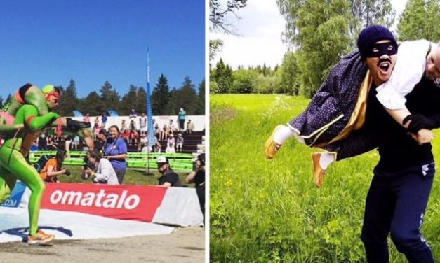 Wife Carrying Contest Sunday 2.30pm